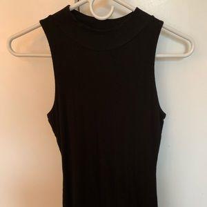 Black super soft body con dress